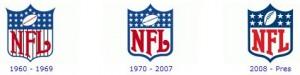 NFL ao logo dos tempos