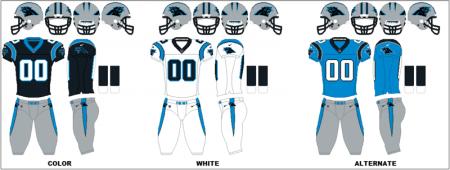 Carolina Panthers - Uniformes