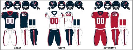 Houston Texans - Uniformes