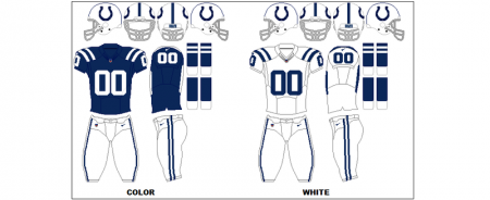 Indianapolis Colts - Uniformes