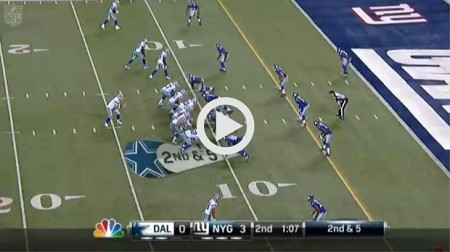 Cowboys Giants Highlights