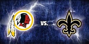 Redskins vs Saints Destaque