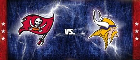 Buccaneers vs Vikings Destaque