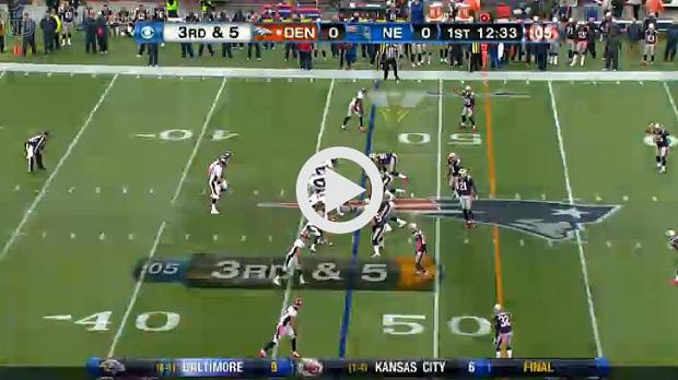 Denver vs Patriots Highlights