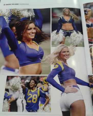 Patriots @ Rams London Cheerleaders