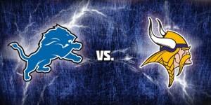 Lions vs Vikings Destaque