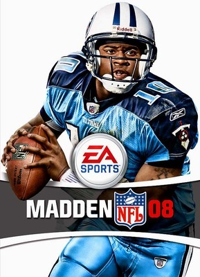 Capa do Madden NFL 08