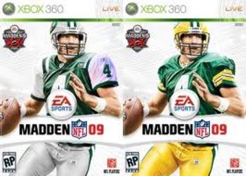 Capa do Madden NFL 09