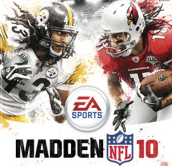 Capa do Madden NFL 10