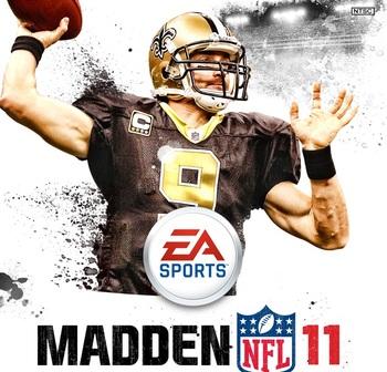 Capa do Madden NFL 11