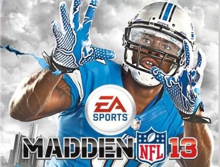Capa do Madden NFL 13