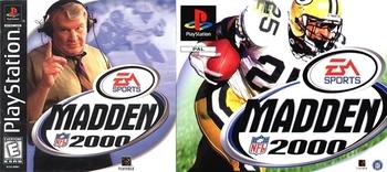 Capa do Madden NFL 2000
