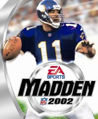 Capa do Madden NFL 2002