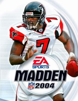 Capa do Madden NFL 2004