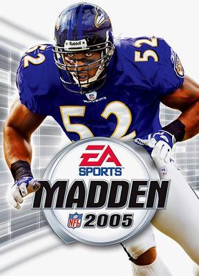 Capa do Madden NFL 2005