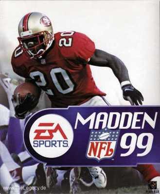 Capa do Madden NFL 99
