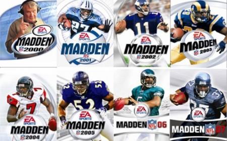 Capas do Madden NFL