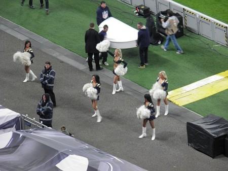 As Cheerleaders