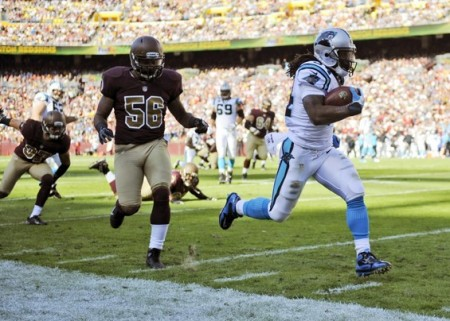Panthers vs Redskins 2