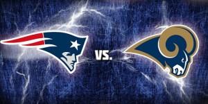 Patriots vs Rams Destaque