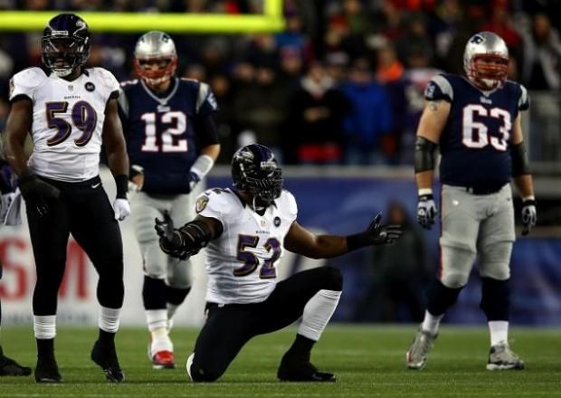Ray Lewis vs Tom Brady