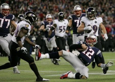 Polémico slide de Tom Brady