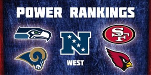 NFC West - Power Rankings