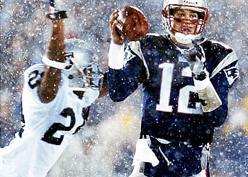 Tom Brady hesita e não faz o lançamento dando origem à polémica decisão
