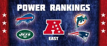AFC East - Power Rankings
