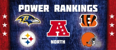 AFC North - Power Rankings
