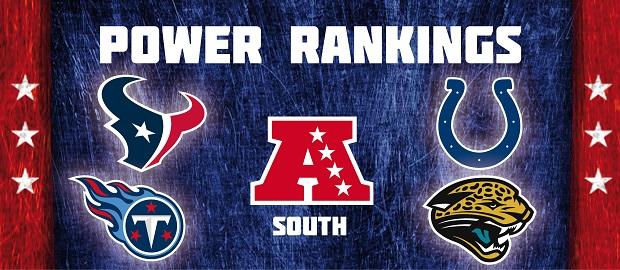 AFC South - Power Rankings
