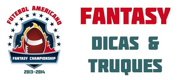 Futebol Americano Fantasy Football  Truques e Dicas  a1538495e6d