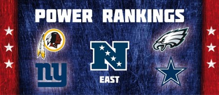 NFC East - Power Rankings