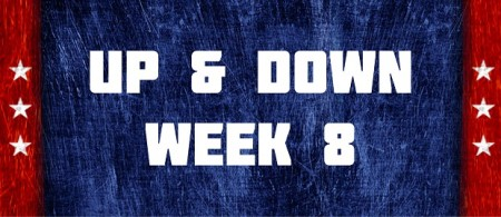 Up & Down - Week 8