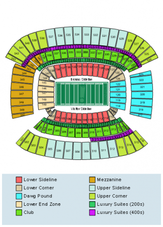 FirstEnergy Stadium Seating Chart