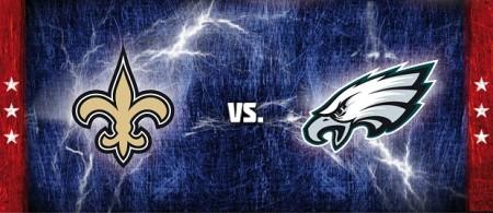 Saints vs Eagles