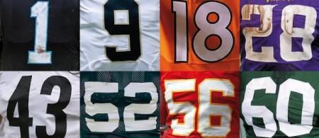 Numeração Jerseys