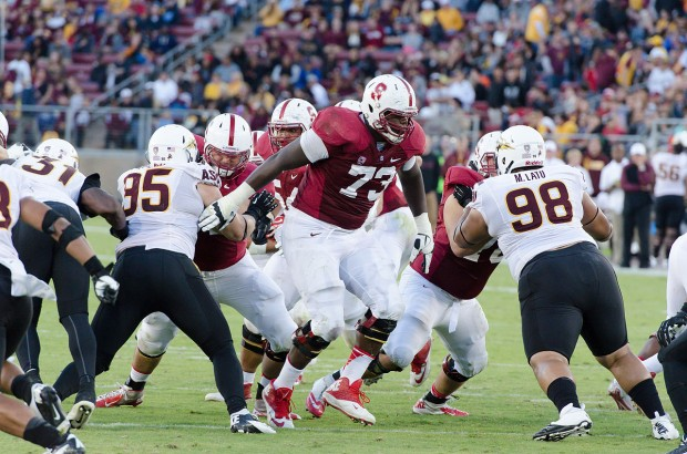 Cameron Fleming, Offensive Tackle, Stanford