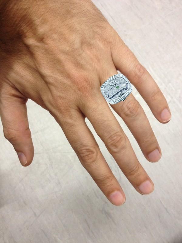 O meu anel de campeão