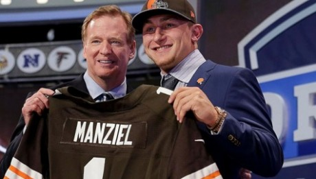 A Jersey do Johnny Manziel é a Mais Vendida