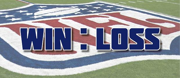 Win Loss NFL