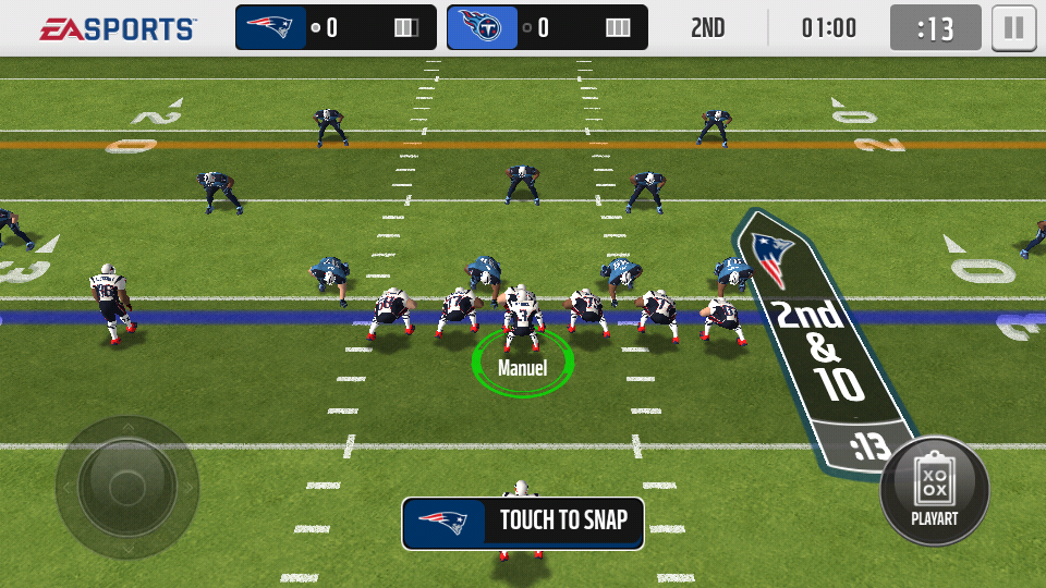 Screenshot NFL Madden Mobile 2015