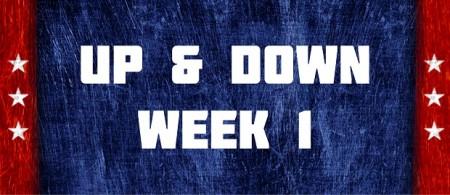 Up & Down - Week 1
