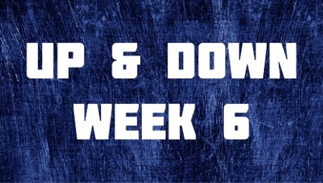 Up & Down - Week 6