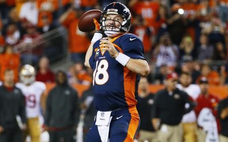 Peyton Manning dispara o seu 509º passe para touchdown