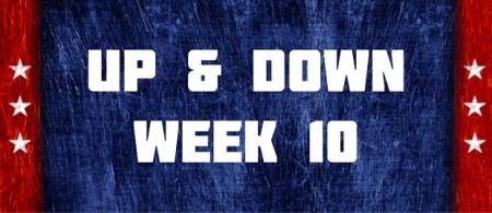 Up & Down - Week 10