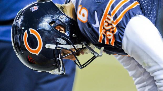 arece não ter fim o pesadelo de Jay Cutler e dos Chicago Bears