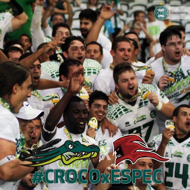 Coritiba Crocodiles celebra o título
