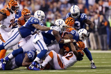 Os Colts conseguiram ficar por cima