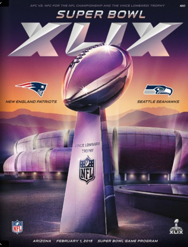 Super Bowl XLIX Program